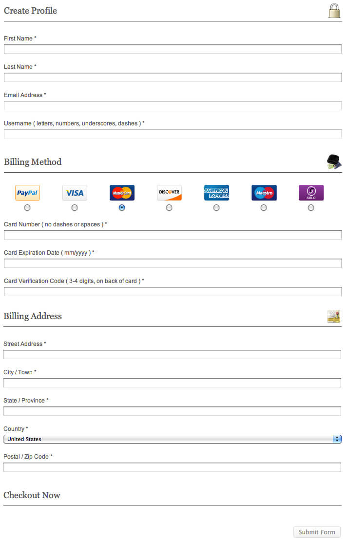 how to set up recurring billing subscriptions in buddypress to